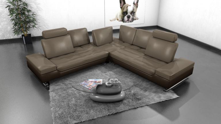 Canapé d'angle XXl Minho