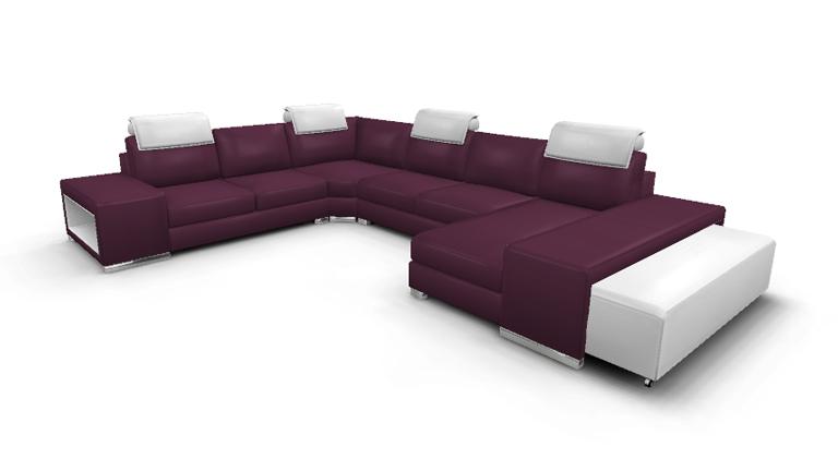 Canapé Genesis cuir design