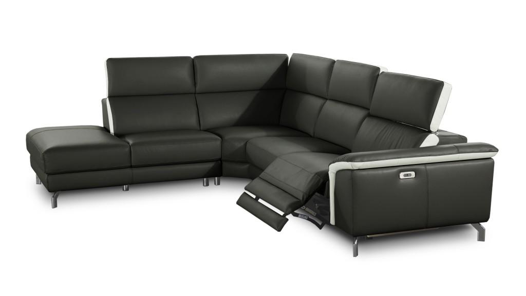 Faleria, canapé relaxation cuir design